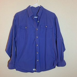 Travel Smith Men's Size Med  Button Down Cotton